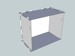Eurorack Lasercut Case 42HP 4U 123mm