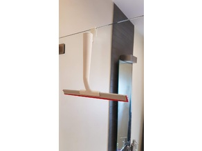 Shower hook for Ikea Squeegee