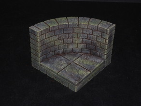 OpenForge 2.0 Cut-Stone External Curved Tile