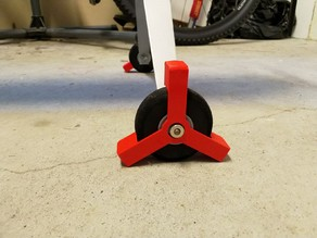 Customizable RC Plane Wheel Wedge