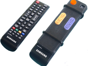 TV Remote adaptor for seniors