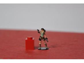 Lara Croft 1/87 scale (H0)