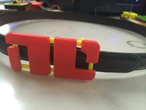 Non-Compliant Belt Buckle