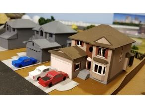 My Suburban House (N-Scale)