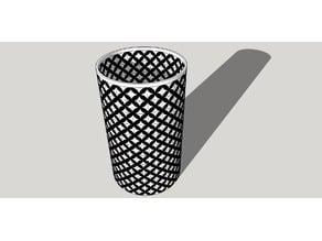 2 colors vase/ penholder