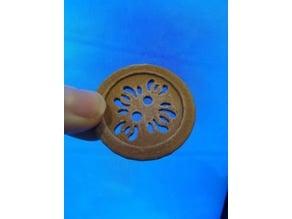 Leaf Button