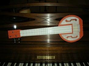 Electro-Acoustic Banjitar