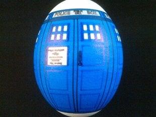 Eggbot - TARDIS