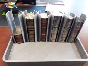 BAR Coin Holder organizer czech