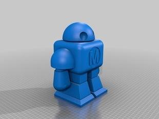Animated MAKE Robot