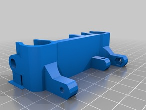 Rostock Modded Parts - Carriage, Platform (for Ball Links); Belt Spreader; Corner Support