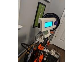 Modular Prusa MK2/S frame LCD holder