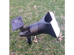 Outdoor Spotlight Lithophane Holder