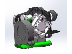 Titan Aero Fan mount (Ender 3/CR10) No Supports!