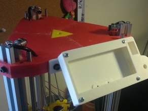 U-Design's panelsan adapter for RichRap's 3DR delta printer