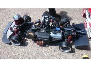 HPI RS4 3 Drift modifications
