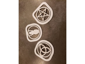 Wiccan Notebook Marks
