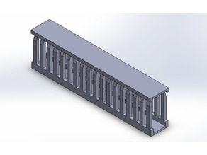 Printable wire duct