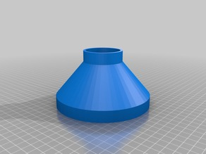 My Customized Funnel (Pancake Mix) 130mm opening, 53mm small-end