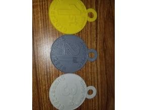 Robot Wars Medals