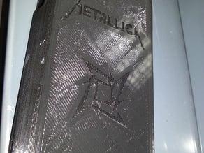 Samsung Galaxy S3 Metallica logo case (based on Slipshine galaxy s3 case)