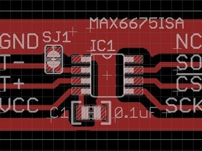 MAX6675 K-Thermocouple ADC Breakout Board