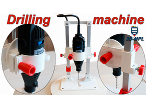 Drilling machine for DREMEL (TASP) by 3D-MPL