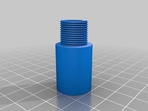 Airoft muzzle thread -14mm glue on type