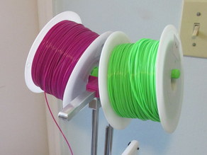 Double Spool Holder for Printrbot