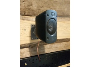 Speaker Mount - Logitech Z906 / Generic 6mm - 3 axis of rotation