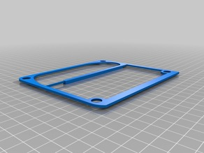 Duet Wifi mounting bracket for anycubic linear plus