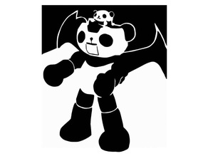 Panda Z stencil