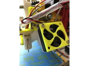 3D BL Touch Mount for Compact Extruder