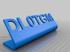 DL0TGM sign