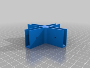 Customizable mounting bracket modules for shelving system