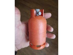 Gas bottle valve
