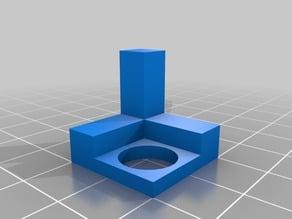 20mm calibration cube and circle