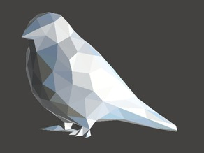 Low Poly Swallow