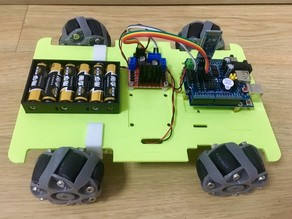 「Snapmaker」Arduino Off-Load Vehicle