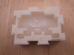 Space invader (ice cube) molds - Tiled