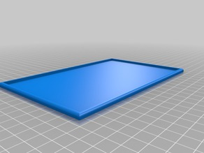 8x5 movement tray for 28 mm miniatures