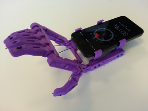 Phone Mount for Snap-Together Robohand