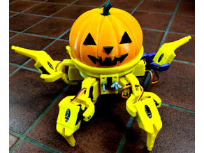 Vorpal Hexapod Halloween Pumpkin Head