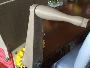 Modified Handle for Fila Maker Compost Shredder
