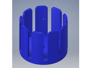 Basket coil jig for crystal radio
