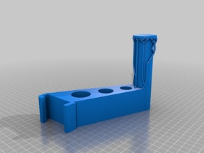 Dremel 3D20 Filament holder - Additional support on mounting area