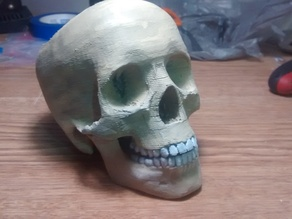 Supportless Candy Bowl Skull