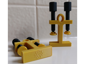 Double-Sided Hangable G-Clamp