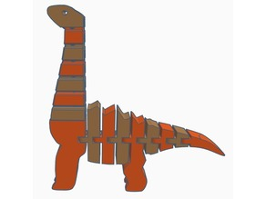 Another Flexi Brachiosaurus (Dual-Extrusion)
