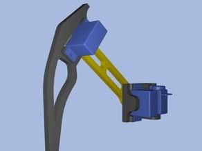 Robot leg v.HS-55